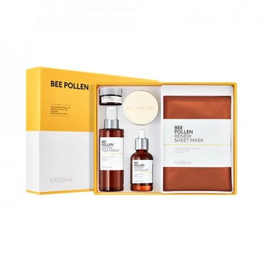 MISSHA - Bee Pollen Renew Special 2 Set - 1pack (6items)