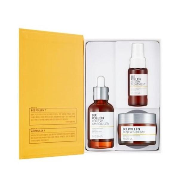 MISSHA - Bee Pollen Renew Special Set - 1pack (3items)
