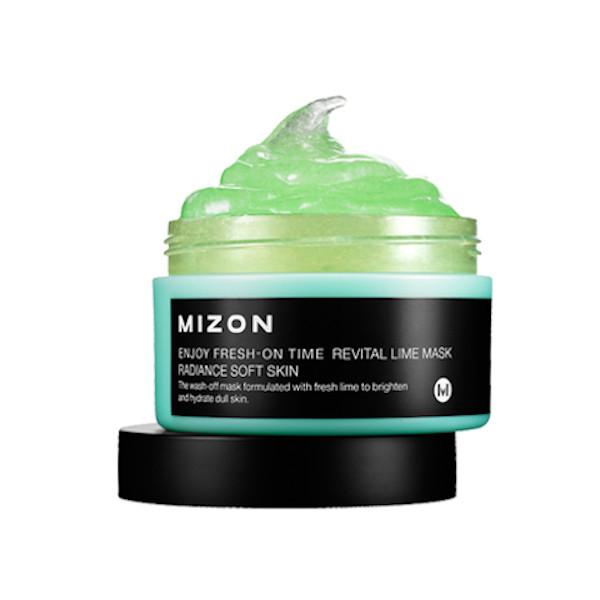 MIZON - Enjoy Fresh-On Time Revital Lime Mask - 100ml