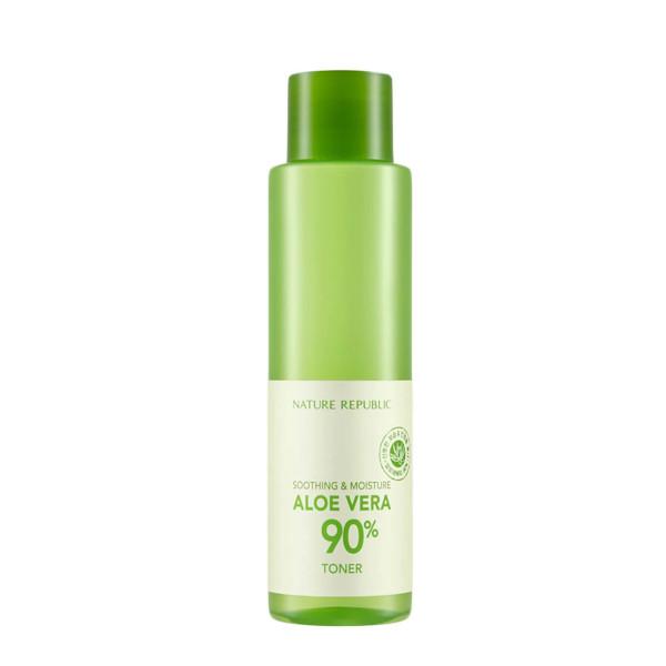 NATURE REPUBLIC - Soothing & Moisture Aloe Vera 90% Toner - 160ml