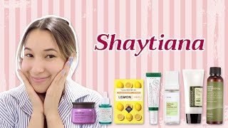 Korean Glass Skin Morning Skincare Routine ft. Shaytiana | STYLEVANA K-BEAUTY
