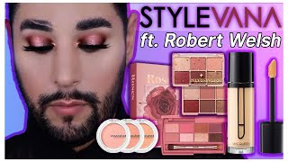 Stunning Shimmery Look ft. Robert Welsh | STYLEVANA K-BEAUTY
