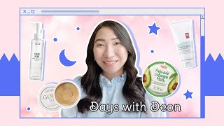 Night Skincare Routine | Reviewing Popular Korean Skincare ft. Days With Deon | STYLEVANA K-BEAUTY