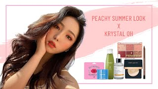 Peachy Summer Look | Stylevana K-Beauty