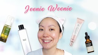 Simple 4 Step Morning Korean Skincare Routine ft. Jeenie.Weenie | STYLEVANA K-BEAUTY