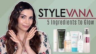 5 Ingredients for GLOWING SKIN | Stylevana K-Beauty