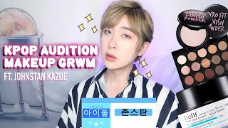 Get Ready with me for Kpop Audition ft. Johnstan Kazue | STYLEVANA K-BEAUTY