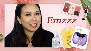 Unboxing Korean Skincare and Makeup package! ft. Emzzz | STYLEVANA K-BEAUTY