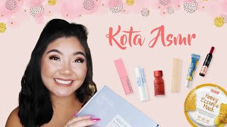 ASMR Unboxing K-beauty products ft. Kota asmr | STYLEVANA K-BEAUTY