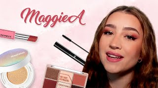First Time trying Korean Makeup! ft. MaggieA | STYLEVANA K-BEAUTY