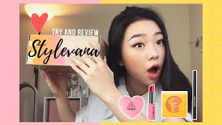 K-Beauty Unboxing & TRY ON ft. Elaine Park | Stylevana K-Beauty