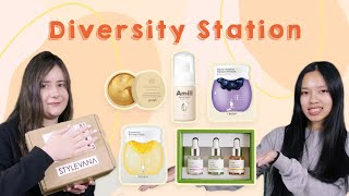 Korean Makeup/Skincare Haul ft. Diversity Station | STYLEVANA K-BEAUTY