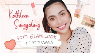 EASY GO-TO SOFT GLAM ft. Kathleen Sanggalang | Stylevana K-beauty