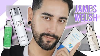 Skincare Routine with New K-beauty Products! ft. James Welsh | STYLEVANA K-BEAUTY