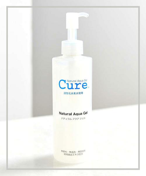 Stylevana - Vana Blog - Best Selling Exfoliators 2020 - Cure - Natural Aqua Gel