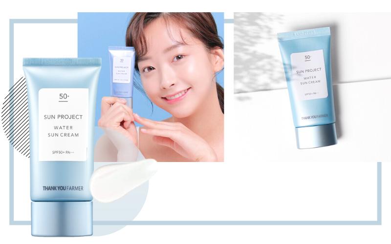 Stylevana - Vana Blog - Summer Sunscreen - THANK YOU FARMER - Sun Project Water Sun Cream