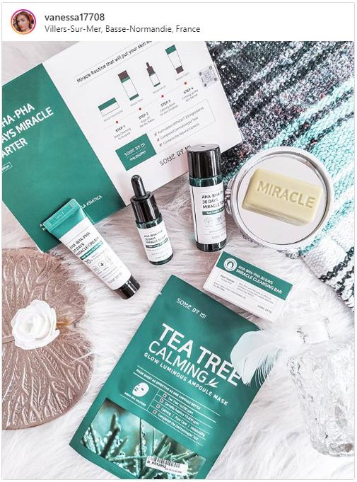 Stylevana - Vana Blog - Tea Tree Oil For Acne Prone Skin - SOME BY MI - 30 Days Tea Tree Calming Glow Luminous Ampoule Mask (True)