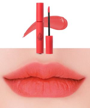 Stylevana - Vana Blog - The World of the Married Han So-hee Soft Coral Makeup - 3CE - Velvet Lip Tint