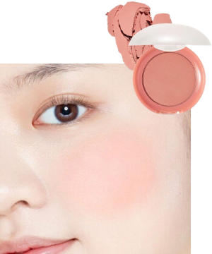 Stylevana - Vana Blog - The World of the Married Han So-hee Soft Coral Makeup - Etude House - Lovely Cookie Blusher