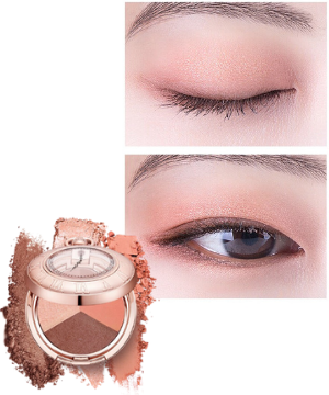 Stylevana - Vana Blog - The World of the Married Han So-hee Soft Coral Makeup - LABIOTTE - Momentique Time Shadow