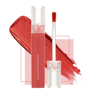 Stylevana - Vana Blog - Summer Lip Makeup Trend - Romand See-Through Matte Tint No.03 Through Coral