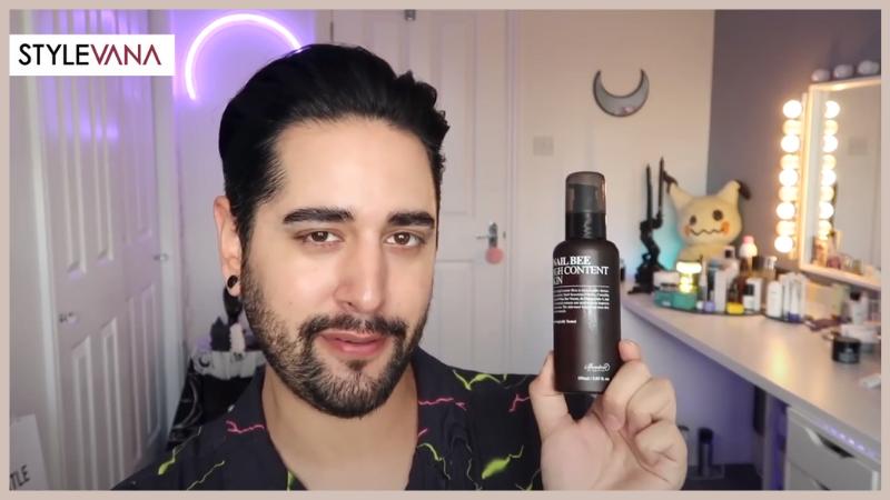 Stylevana - Vana Blog - Beauty Influencers - James Welsh Youtube - Benton - Snail Bee High Content Skin