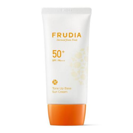 Stylevana - Vana Blog - Beauty Expert Kelly Driscoll Glow Skin - FRUDIA - Tone-Up Base Sun Cream SPF50+