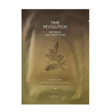 Stylevana - Vana Blog - Beauty Expert Kelly Driscoll Glow Skin - MISSHA - Time Revolution Artemisia Jelly Sheet Mask