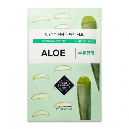 Stylevana - Vana Blog - Best Aloe Vera Face Mask Sheet - Etude House - 0.2 Therapy Air Mask - Aloe
