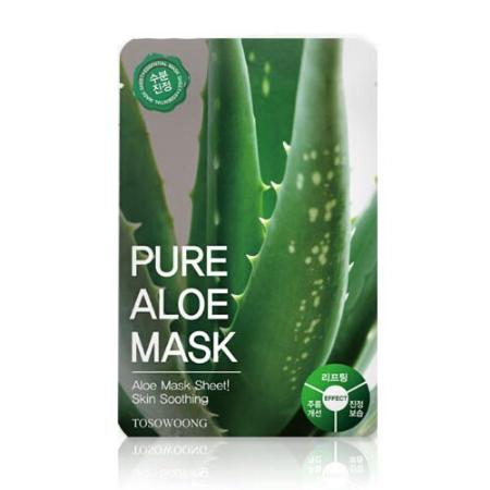 Stylevana - Vana Blog - Best Aloe Vera Face Mask Sheet - TOSOWOONG - Pure Mask Sheet - Aloe