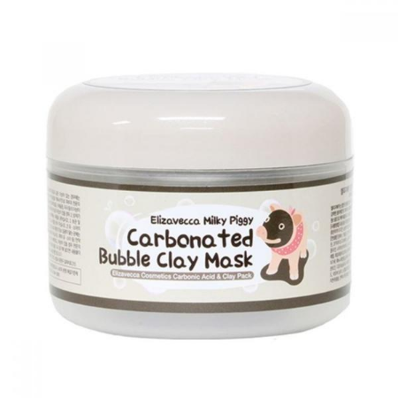 Stylevana - Vana Blog - Best Deep Cleansing Masks For Oily Skin - Elizavecca - Milky Piggy Carbonated Bubble Clay Mask