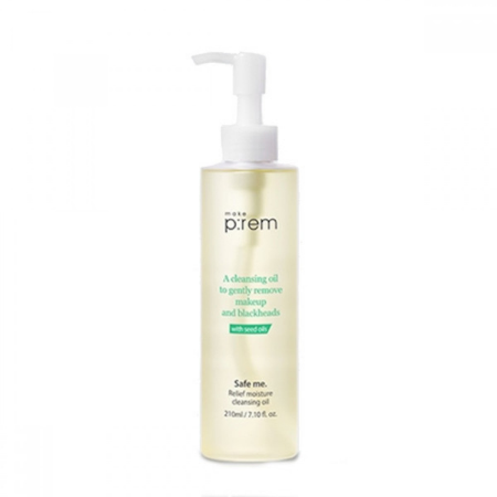 Stylevana - Vana Blog - HwaHae Beauty Award 2020 Top Rated K-Beauty - make p:rem - Safe Me. Relief Moisture Cleansing Oil