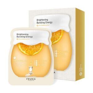 Stylevana - Vana Blog - Beauty Review Youtube Cassandra Bankson - FRUDIA - Citrus Brightening Mask