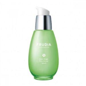 Stylevana - Vana Blog - Beauty Review Youtube Cassandra Bankson - FRUDIA - Green Grape Pore Control Serum