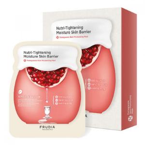 Stylevana - Vana Blog - Beauty Review Youtube Cassandra Bankson - FRUDIA - Pomegranate Nutri-Moisturizing Mask