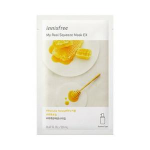 Stylevana - Vana Blog - Best Honey Skincare Routine - innisfree - My Real Squeeze Mask Ex - Manuka Honey