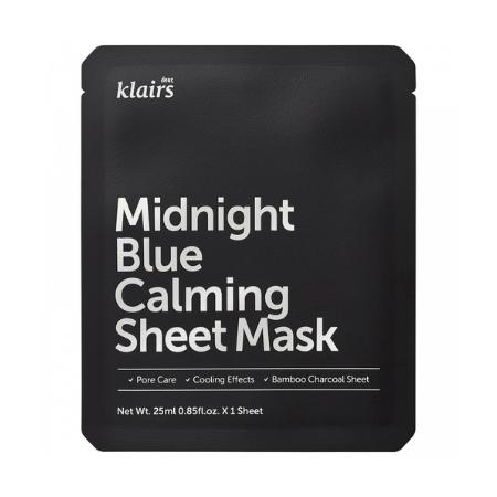 Dear Klairs - Midnight Blue Calming Sheet Mask