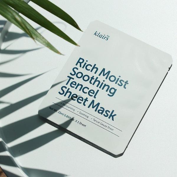 Dear Klairs Rich Moist Soothing Tencel Sheet Mask