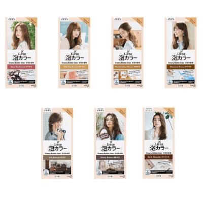 Kao Liese Creamy Bubble Color (Natural Series hair dye)
