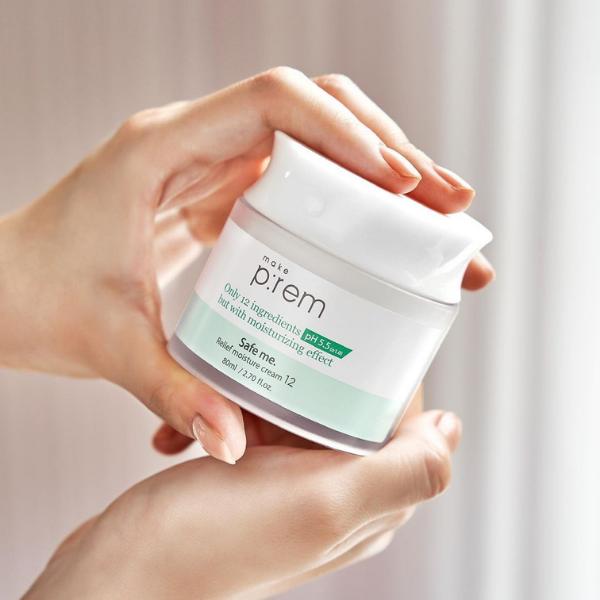 make p:rem Safe me. Relief Moisture Cream 12
