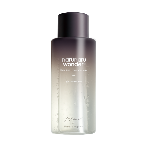 Haruharu WONDER Black Rice Hyaluronic Toner (Fragrance Free)