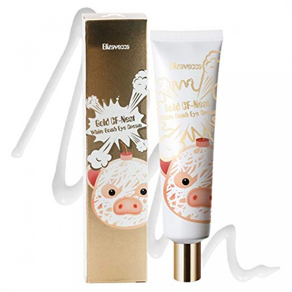 Elizavecca - Gold CF-Nest White Bomb Eye Cream