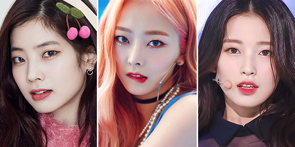 Shimmer away– Pictured with Twice's Dahyun, Pristin's Eunwoo, Oh My Girl's Arin