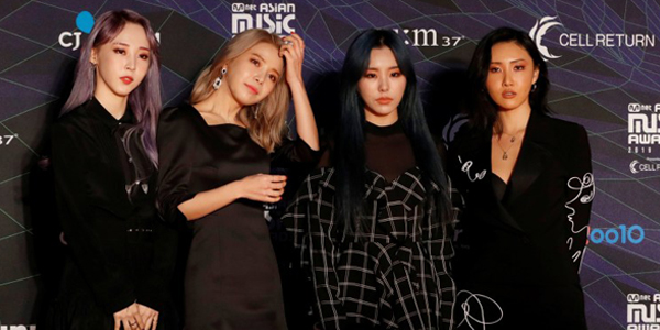 Black and White Contrast Trend Banner- Mamamoo