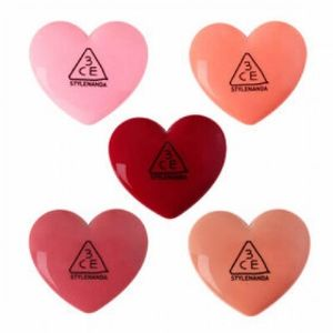 3CE - Heart Pot Lip Balm