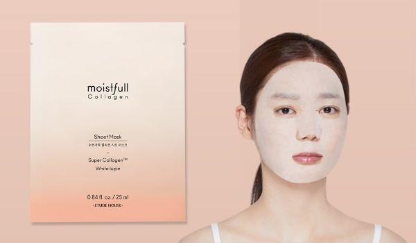 Etude House Moistfull Collagen Facial Mask Sheet