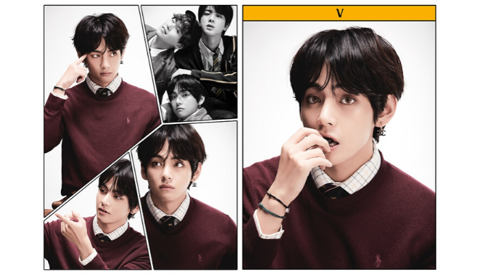 BTS V Kim Taehyung Map of the Soul: 7 2020 New Album Concept Photo Portrait Big Hit Entertainment