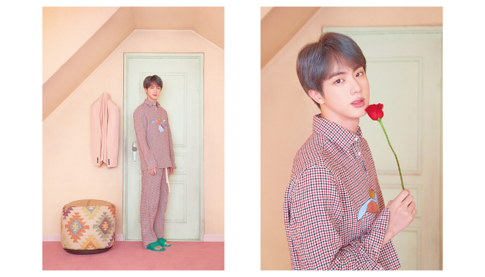 BTS Jin Kim Suk-jin Map of the Soul: Persona 2019 Album Concept Photo Portrait Big Hit Entertainment
