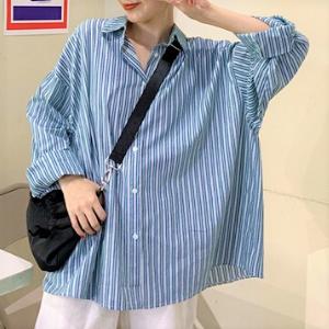 MissLady - Striped Oversized Shirt