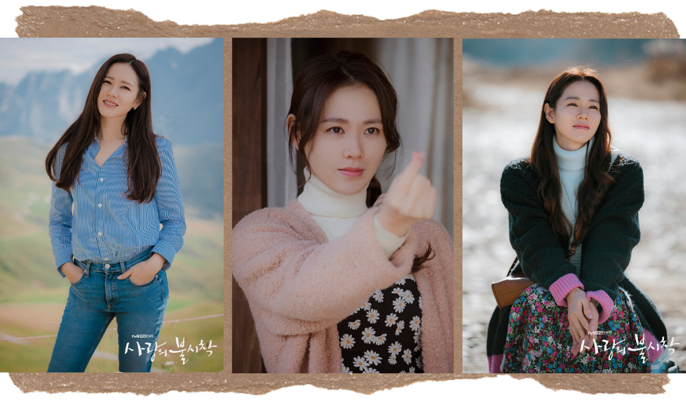Son Ye-jin Best Beauty Looks in Crash Landing on You Natural Makeup Look
